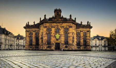 Die Ludwigskirche in Saarbrücken